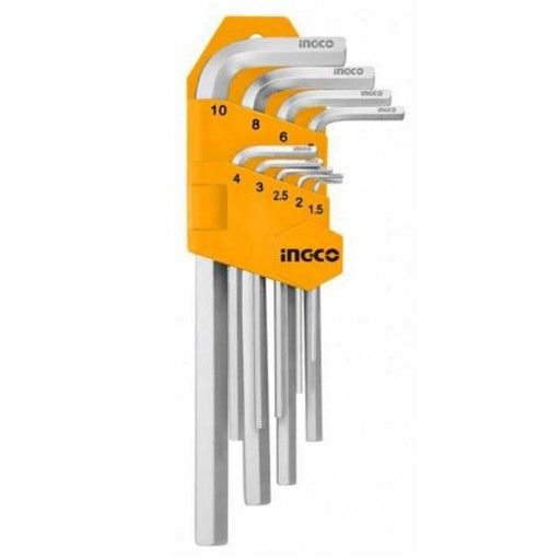 Ingco 1.5-10 mm Industrial Hex Key