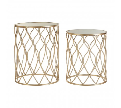 Gold Side Tables