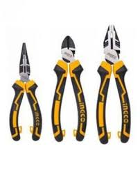 INGCO 3 PIECE PLIER SET
