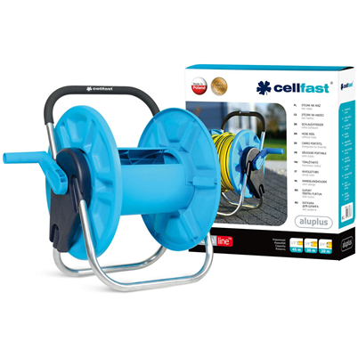 Cellfast Ideal Aluplus Hose Reel 0.5 inch x 45m Capacity