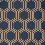 Luxe Hexagon Navy & Gold