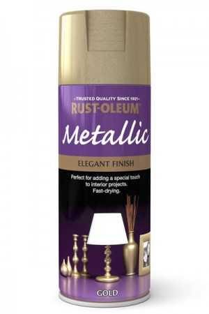 400ML Rustoleum Metallic Gold