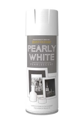 400ML Rustoleum Metallic Pearly White