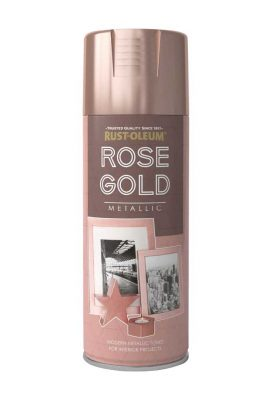 400ML Rustoleum Metallic Rose Gold