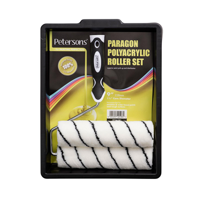 Petersons Paragon Polyacrylic 9 inch Roller Set