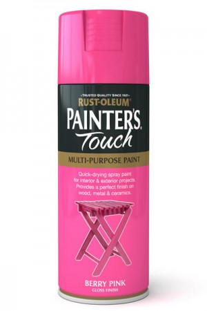 400ML Rustoleum Painter's Touch Berry Pink