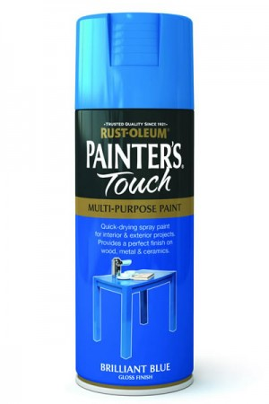 400ML Rustoleum Painter's Touch Brillant Blue