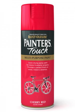 400ML Rustoleum Painter's Touch Cherry Red