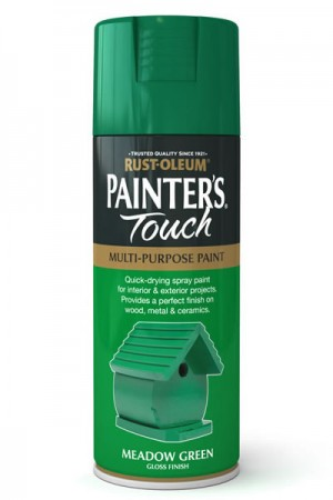 400ML Rustoleum Painter's Touch Meadow Green