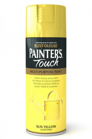 400ML Rustoleum Painter's Touch Sun Yellow
