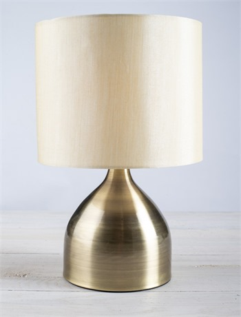 Antique Brass Touch Lamp