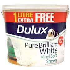 10 L Dulux Vinyl Soft Sheen White