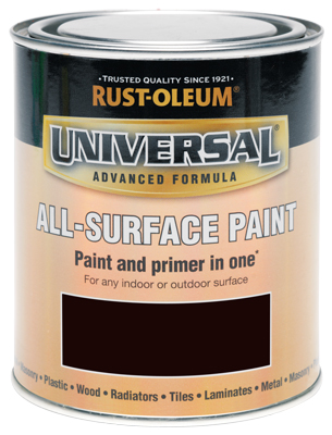 250ML Rustoleum Universal Espresso Brown