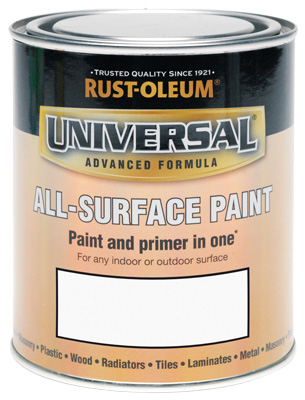 250ML Rustoleum Universal Gloss White