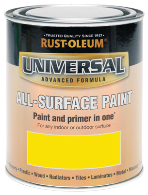 250ML Rustoleum Universal Yellow